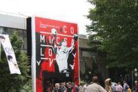 Riesiges Eingangsplakat beim Comicsalon Erlangen 2012