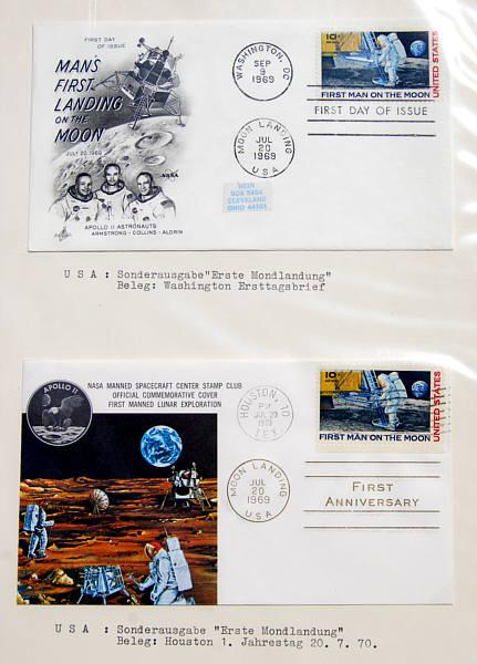 Briefe Tracking : Raumfahrt weltraum briefe zum apollo programm