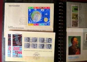Briefmarken Blöcke DDR und BRD