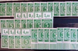 Briefmarken vom Bogenrand