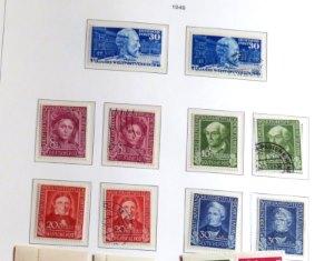 BRD Briefmarken 1949