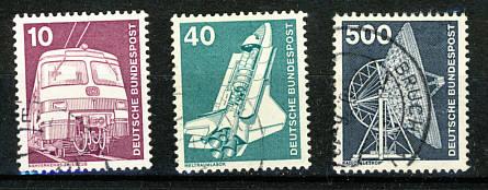 Die Briefmarken Der Brd 1949 2009 Teil 3 1970 1979