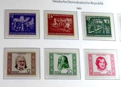 Der Ungefähre Wert Der Briefmarken Der Ddr Von 1952 Film Von