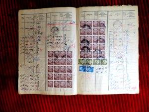 Posteinlieferungsbuch