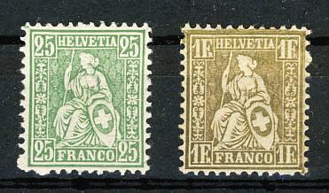Die Briefmarken Der Schweiz