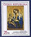 Briefmarke der Tschechischen Republik
