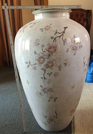 seltene vasen mit vogelmotiv bronze bilder