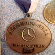 laufmedaillen berlin marathon, 25 km von berlin und von weiteren
