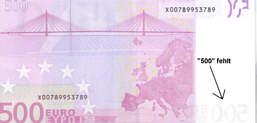 Schein 500 ausdrucken euro