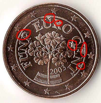 Fehlprägungen Abarten Und Varianten Der Euro Münzen österreich