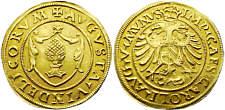 Augsburg-Stadt Goldgulden, Karl V. 1517 - 58