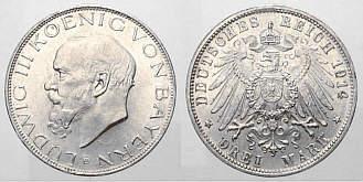Faszination Münzen Des Königreich Bayern Geschichte Der Münzen Des