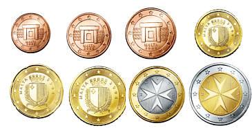 Auflagen Und Bewertung Der Euro Kursmünzensätze Maltas