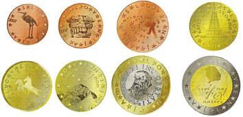 Auflagen Und Bewertung Der Euro Kursmünzensätze Sloweniens