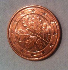fünf cent münzen in europa