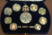 Vatikan Kursm�nzensatz 2002