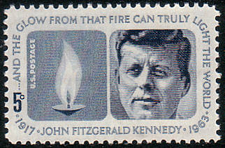 John F Kennedy On 1964 Stamp Issue Of The United States Picture By Thomas Schmidtkonz